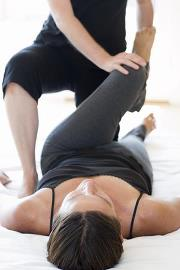partner yoga thai massage